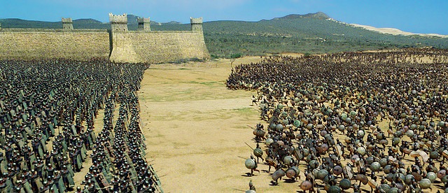 Η μάχη Τρώων Αχαιών