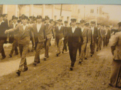 Παρέλαση του Γυμνασίου στις 25 Μαρτίου 1960